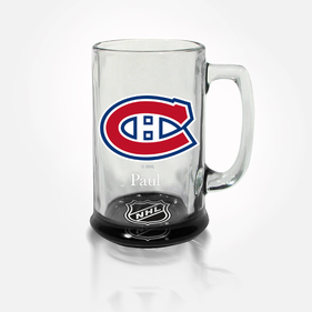 Personalized NHL Bottoms-Up Mug