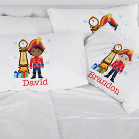 Personalized Nutcracker Christmas Kids Pillowcase