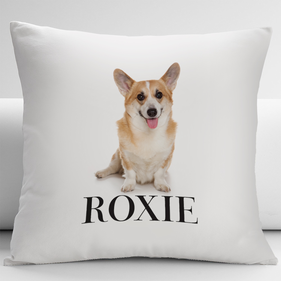 Personalized Pembroke Corgi Pets Decorative Cushion Cover