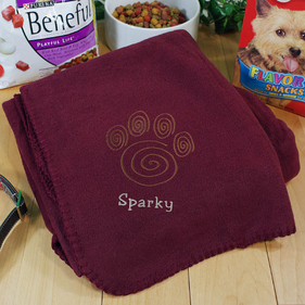 Personalized Pet Blankie