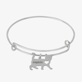 Personalized Pet Charm Bangle