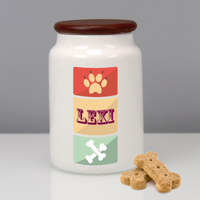 Personalized Pet Jar