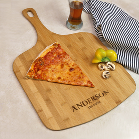 Personalized Large Wooden Pizza Board
