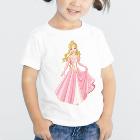 Exclusive Sale - Personalized Princess Kid's T-Shirt