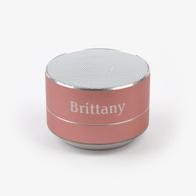 Personalized Round Bluetooth Speaker