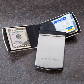 Personalized Rubber Money Clip
