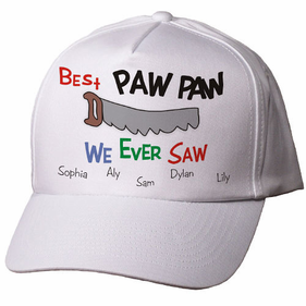 Personalized Saw Hat