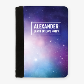 Personalized Science Notes File Folder Clipboard