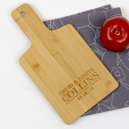Couples Personalized Serving Board