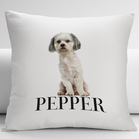 Personalized Shih Tzu Pets Decorative Cushion Cover