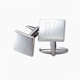 Personalized Square Cuff Links