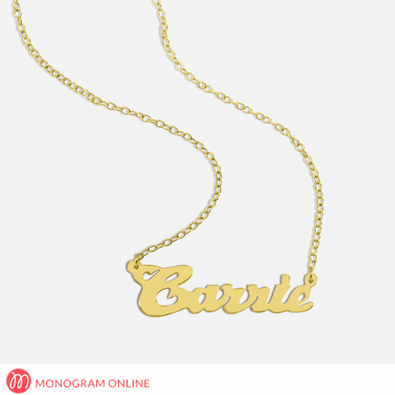 Personalized Silver Name Necklace