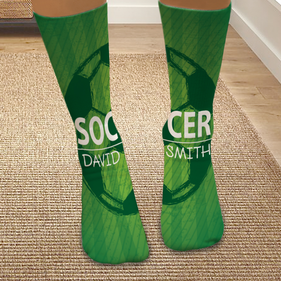 Personalized Soccer Tube Socks