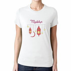 Personalized Teen Stars and Lanterns T-Shirt