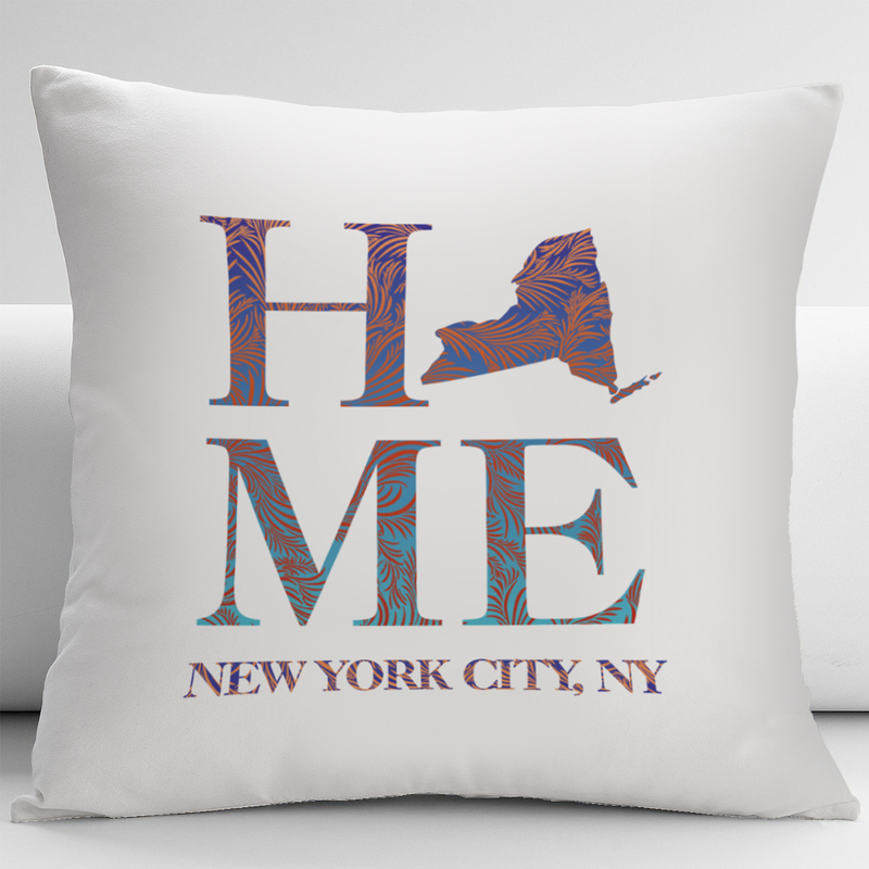 Personalized State Design Decorative Pillow Cushion Cover - Monogram Online