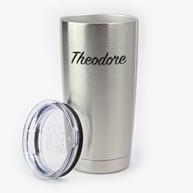 Personalized Steel Vacuum Insulated Large Tumbler