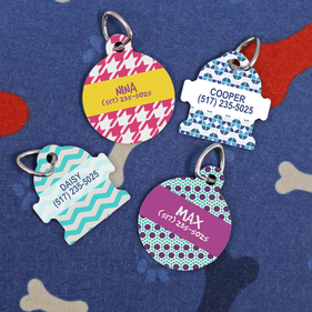Personalized  Sublimatable  Pet Tag