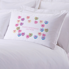 Personalized Sweetheart Pillowcase