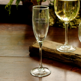 Personalized Toasting Glass