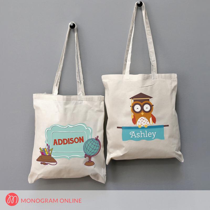Personalized Tote Bag for Kids - Monogram Online