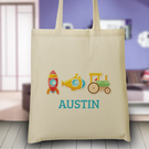 Personalized Tote Bag for Kids