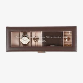 Personalized Watch Case & Jewelry Storage Valet