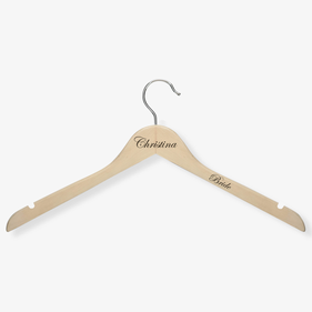 Personalized Wooden Hanger