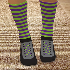 Personalized Wicked Witch Tube Socks