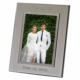 Personalized Wide Border Glitter Galore Picture Frame