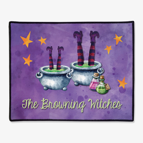 Personalized Witch's Pots Doormat