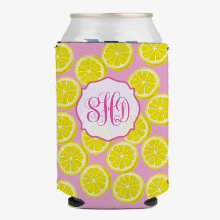 Pink Lemonade Custom Can Beverage Holder