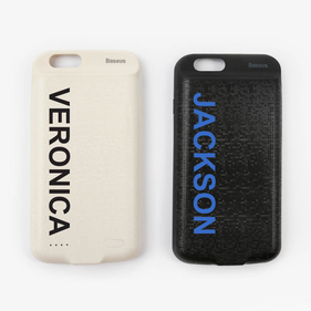 Personalized Power Case For iPhone 6 - 3650MAH
