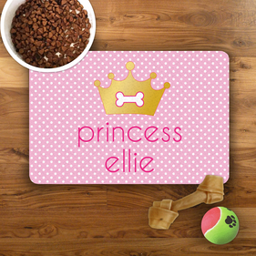 Princess Personalized Pet Placemat