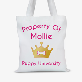 Property Of Princess Personalized Pet Tote Bag