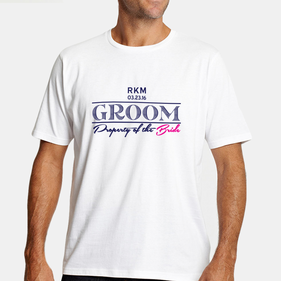 Property Of the Bride Personalized Groom T-Shirt