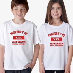 Property Of XXL Personalized T-Shirt