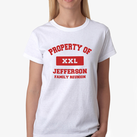 Property Of XXL Personalized Women's T-Shirt