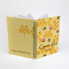 Queen Bee Personalized Spiral Notebook