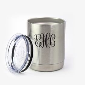 Script Monogram Steel Vacuum Insulated Small Tumbler