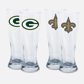 Set of 2 Flared NFL Pilsner
