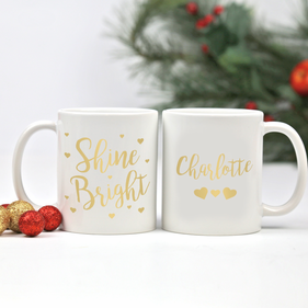 Shine Bright Personalized Ceramic Mug