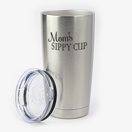 Sippy Cup Custom Steel Vacuum Insulated Large Tumbler