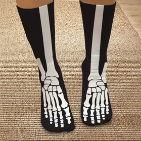 Skeleton Personalized Tube Socks