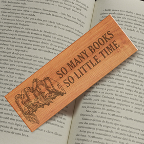 So Many Books So Little Time Personalized Bookmark
