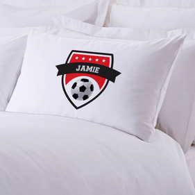 Soccer Personalized Sports Pillowcase