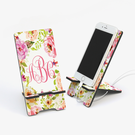 Spring Flowers Personalized Cell Phone Stand