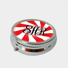 Swirl Design Personalized Pill Box