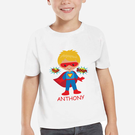 Super Hero Personalized Character T-Shirt