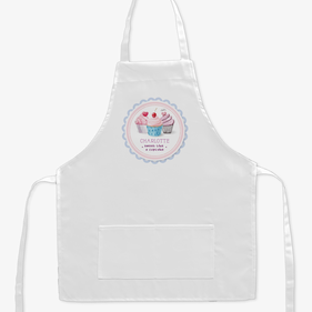 Sweet Like A Cupcake Custom Kids Apron