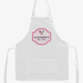 Sweet Treats Personalized Kids Apron